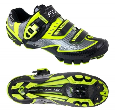 Pantofi Force MTB Carbon Devil fluo 43