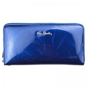 Portofel dama din piele naturala Pierre Cardin PD772 Albastru