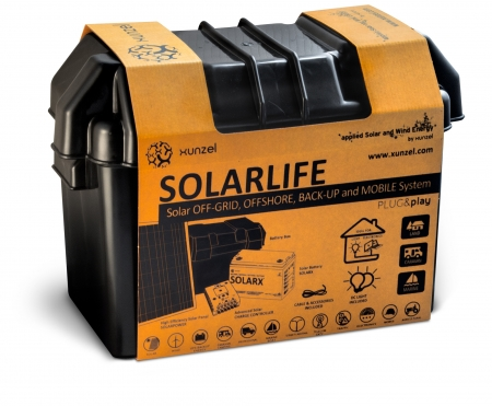 Solar Kit Xunzel SOLARLIFE 5i1