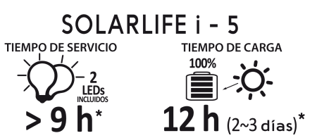 Solar Kit Xunzel SOLARLIFE 5i2