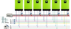 Inverter MPP SOLAR Hybrid V4048 4kva 48V 4000W3