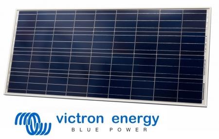 Victron Energy 50W 12V Poly Solar Panel 540x670x25mm0