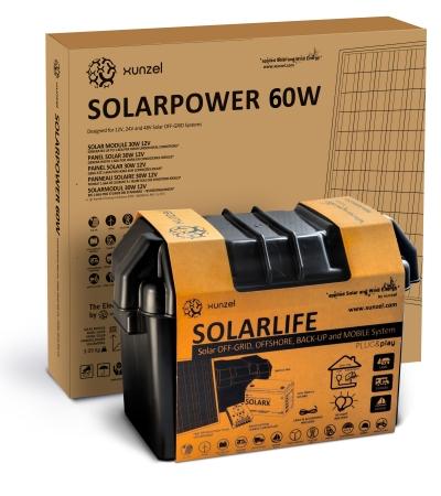Solar Kit Xunzel SOLARLIFE 60i1
