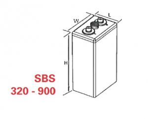 VRLA Battery PowerSafe SBS EON 2V 580 Ah SBS 5801