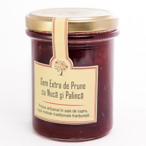 Gem de Prune cu Nuca şi Palinca 230g - Les saveurs d'Yveline