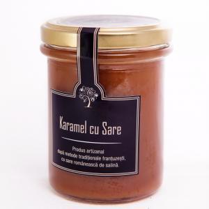 Karamel cu Sare de salina 200g - Les saveurs d'Yveline
