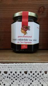 Dulceata de rabarbar cu vanilie 200g - Gourem Traditional