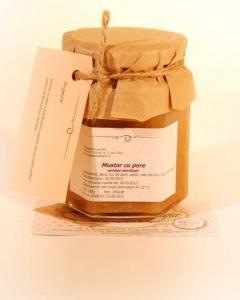 Mustar cu pere 183g - Anna Boutique