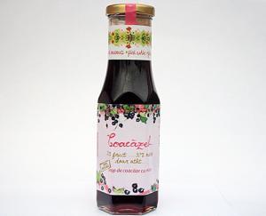 Sirop de coacaze negre in miere Coacazel 230ml - Prisaca Transilvania