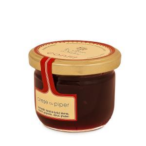 Confit de Cirese cu piper 120g - Les saveurs d'Yveline