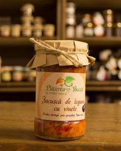Zacusca de legume cu ghebe 300g - Placerea-n Bucate