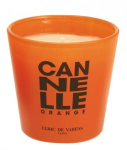 Candela Parfumata Luxury Edition ULRIC DE VARENS - Canelle Orange0