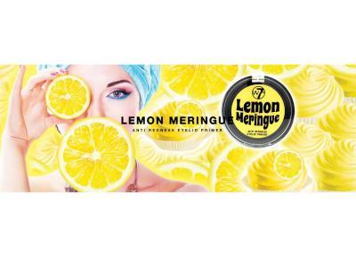 Baza / Primer Fard De Pleoape Anti-Roseata pentru Ochi Sensibili W7 Lemon Meringue Eyelid Primer, 2g2