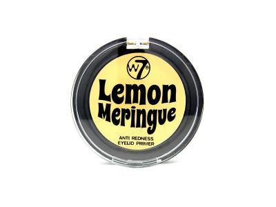 Baza / Primer Fard De Pleoape Anti-Roseata pentru Ochi Sensibili W7 Lemon Meringue Eyelid Primer, 2g0