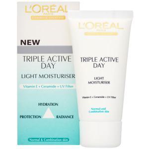 Crema de Zi L'oreal Triple Active pentru ten normal/mixt0