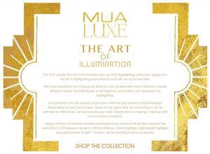Kit Duo pentru Fixarea Machiajului cu Iluminator si Pudra Luxe Set & Reflect Finishing Kit MUA Makeup Academy Professional, 20g2