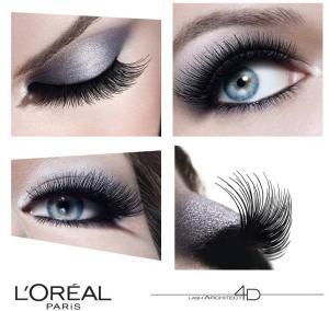Rimel L'oreal Lash Architect 4D False Lash Effect Mascara - Black2