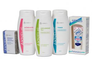 Lotiune faciala pentru curatare profesionala AKNEUS - 200ml1