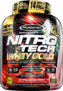 Muscletech Nitro Tech Whey Gold 2.72 kg
