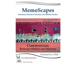MemoScapes. Romanian Journal of Memory and Identity Studies, Vol. 1, No. 1/2017