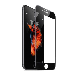 Folie de Sticla iPhone 7 Flippy Cristal 4D Securizata Tempered Glass 9H