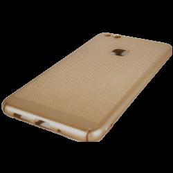 Husa Huawei P10 Lite Tpu Perforat Gold1