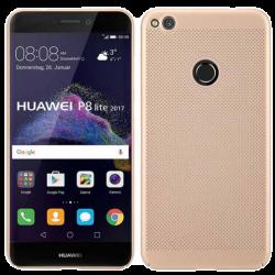 Husa Huawei P9 Lite 2017 Tpu Moale Perforat Auriu