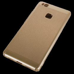 Husa Huawei P9 Lite Tpu Perforat Gold0