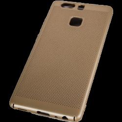 Husa Huawei P9 Tpu Perforat Gold