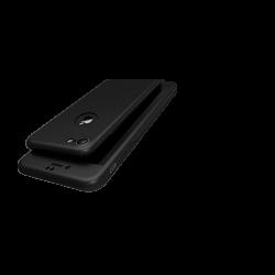 Husa 360 iPhone 7 Fullcover Silicon Negru