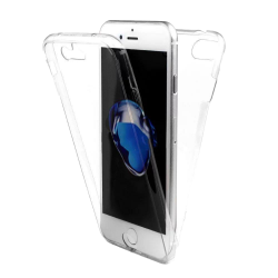 Husa iPhone 7 360 Fullcover Silicon Transparent0