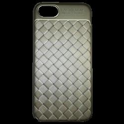 Husa iPhone 7  Efect 3D TPU Moale Auriu