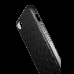Husa iPhone 7  Efect 3D TPU Moale Negru2
