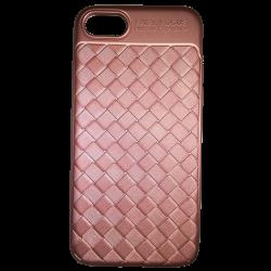 Husa iPhone 7  Efect 3D TPU Moale Roz