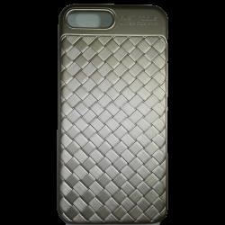 Husa iPhone 7 Plus Efect 3D TPU Moale Auriu