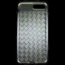 Husa iPhone 7 Plus Efect 3D TPU Moale Negru