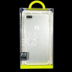 Husa iPhone 7 plus G-Case Silicon Transparent1