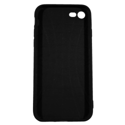 "Husa iPhone 7 TPU Negru Print Mesaj 3D ""All i need is wifi"""