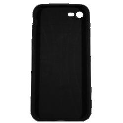 "Husa iPhone 7 TPU Negru Print Mesaj 3D ""Ce puii mei!""2"