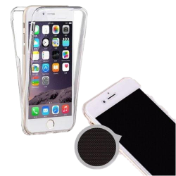 Husa iPhone 8 360 Fullcover Silicon Transparent1