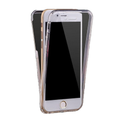 Husa iPhone 8 360 Fullcover Silicon Transparent2
