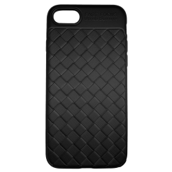 Husa iPhone 8  Efect 3D Tpu Moale Negru