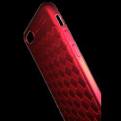 Husa iPhone 8  Efect 3D Tpu Moale Rosu
