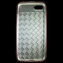 Husa iPhone 8  Efect 3D Tpu Moale Roz