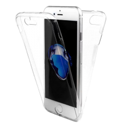 Husa iPhone 8 plus 360 Fullcover Silicon Transparent2