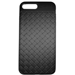 Husa iPhone 8 Plus Efect 3D Tpu Moale Negru