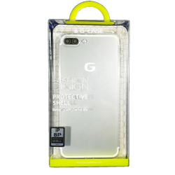 Husa iPhone 8 plus G-Case Silicon Transparent