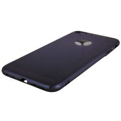 Husa iPhone 8 plus TPU Perforat Bleumarin
