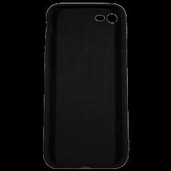 "Husa iPhone 8 TPU Negru Print Mesaj 3D ""Ce puii mei!"""