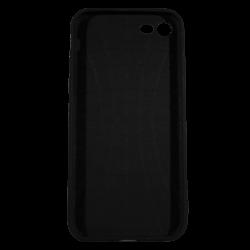 "Husa iPhone 8 TPU Negru Print Mesaj 3D ""Femeile nu gem, femeile dulceata"""